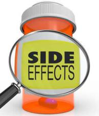 Common Side Effects of ED Medications - Pill Bottle With Label