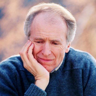 Impotent Husband - Sad Older Man