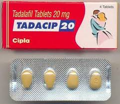 Tadacip 20 - 4 pill dosage packaging