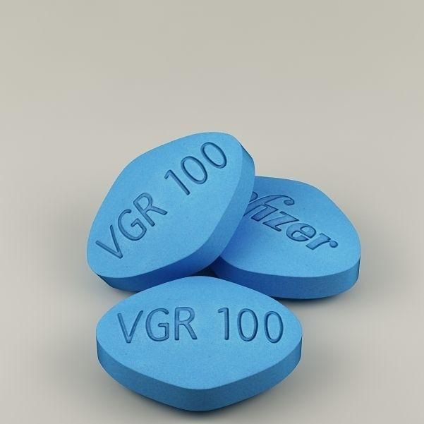 Viagra For ED - 100 mg. pill